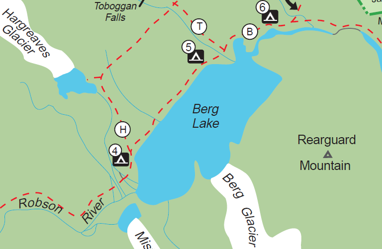 Berg Trail Map